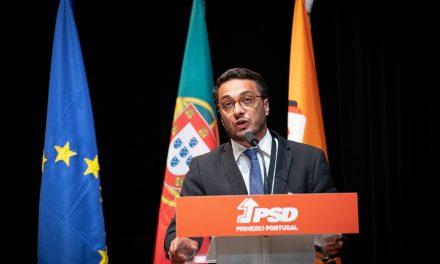 O líder do PSD de Vale de Cambra João Carvalho da Silva no Conselho Nacional do PSD