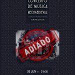 Adiado concerto de música neomedieval com grupo Strella do Dia