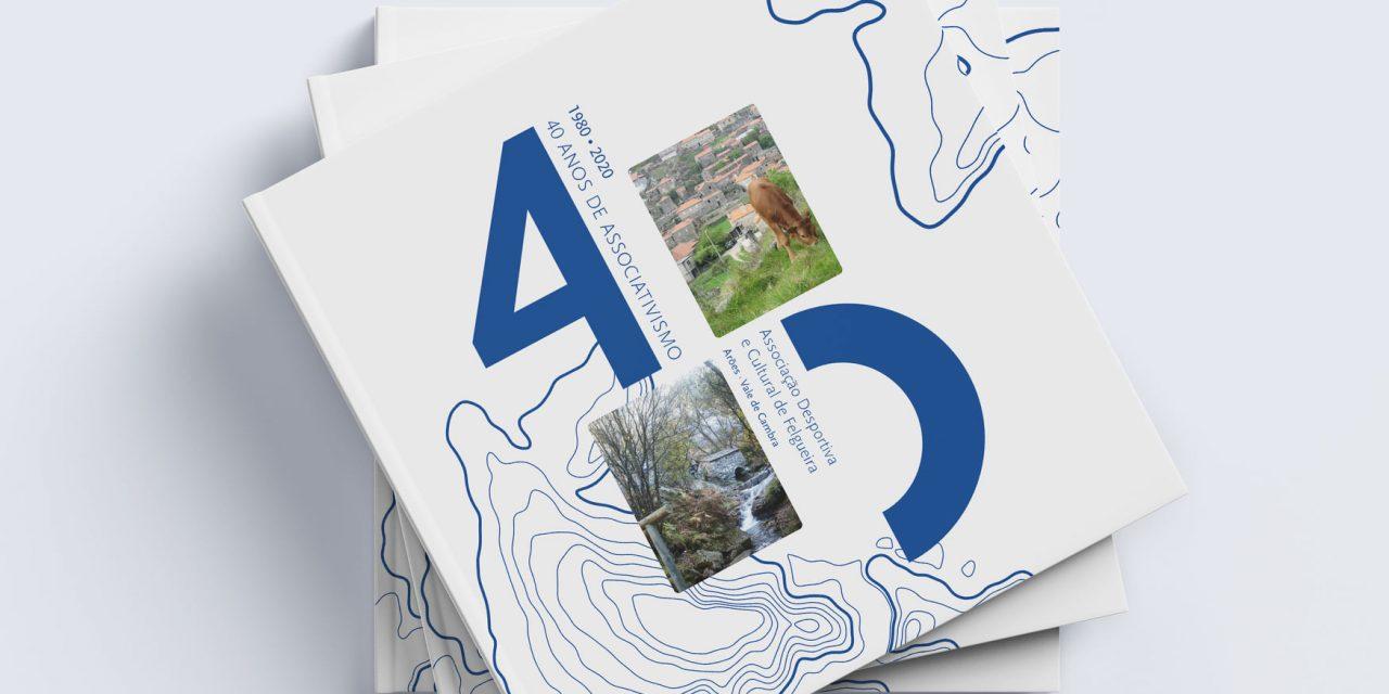 """Associação Desportiva da Felgueira apresenta livro """"40 anos de Associativismo"""""""