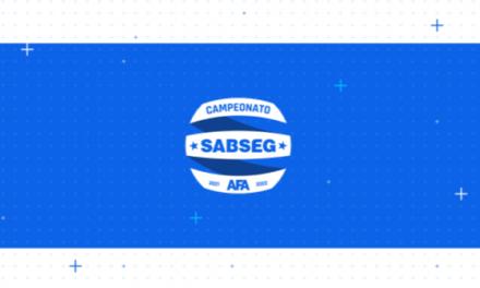 SORTEIO DO CAMPEONATO SABSEG A 10 DE AGOSTO E COM TRANSMISSÃO EM DIRETO NA AFA TV