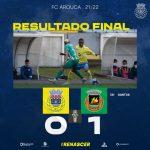 FC Arouca é eliminado em Rio Ave com um golo de Aderllan Santos