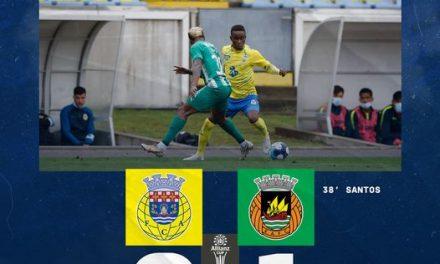 FC Arouca é eliminado em casa pelo Rio Ave com um golo de Aderllan Santos