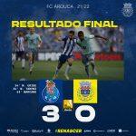 FC Arouca derrotado no Dragão