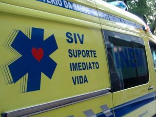 Colisão lateral em Valdasna provoca dois feridos 1 com gravidade