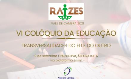 VI Colóquio da Educação realiza-se a 9 de setembro