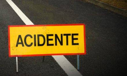 Despiste de automóvel deixa três pessoas feridas em Castelo de Paiva