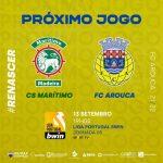 FC Arouca joga hoje com CS Marítimo