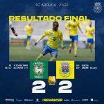 FC Arouca empata com Marítimo no Funchal