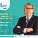 CDS-PP apresenta recandidatura de José Pinheiro e programa eleitoral