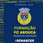 Treinos de Captação da Formação do FC Arouca iniciam-se na próxima terça-feira