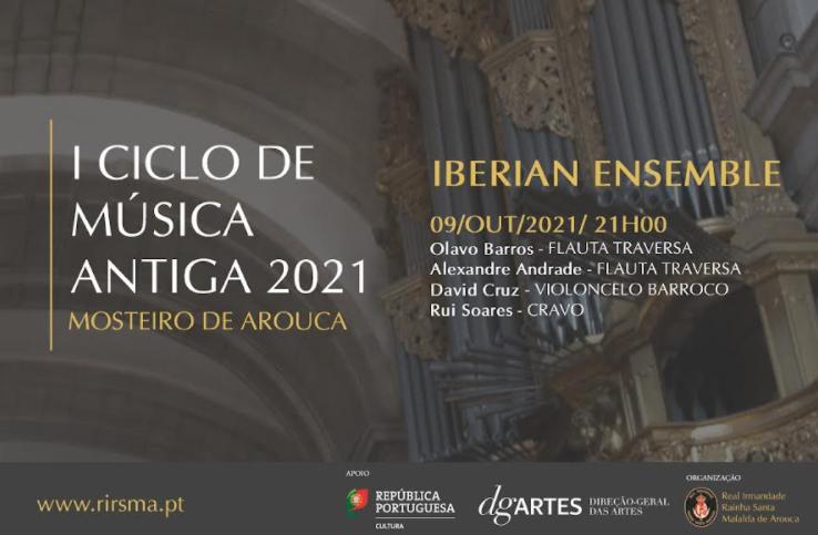 Grupo Iberian Ensemble atua no Mosteiro de Arouca