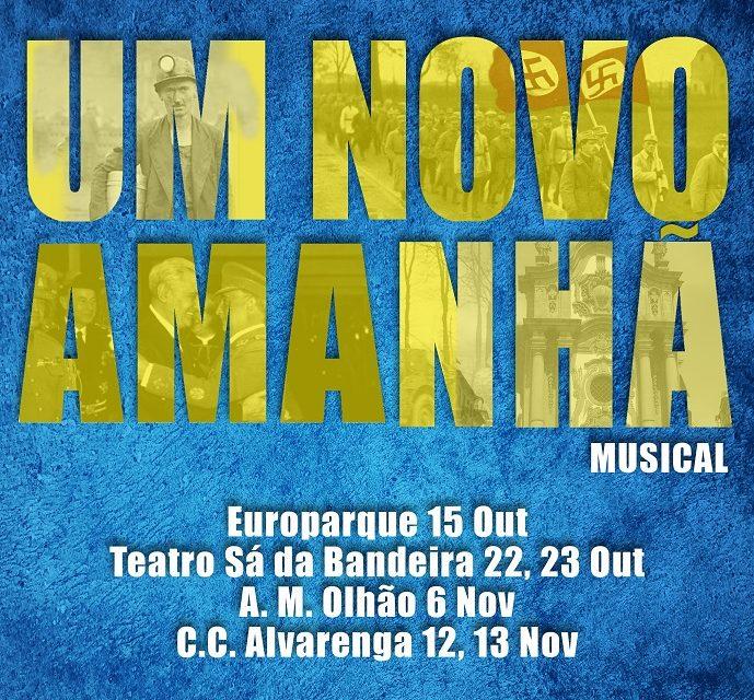 """Alvarenga dos anos 40 retratada no Musical """"Um novo Amanhã"""""""