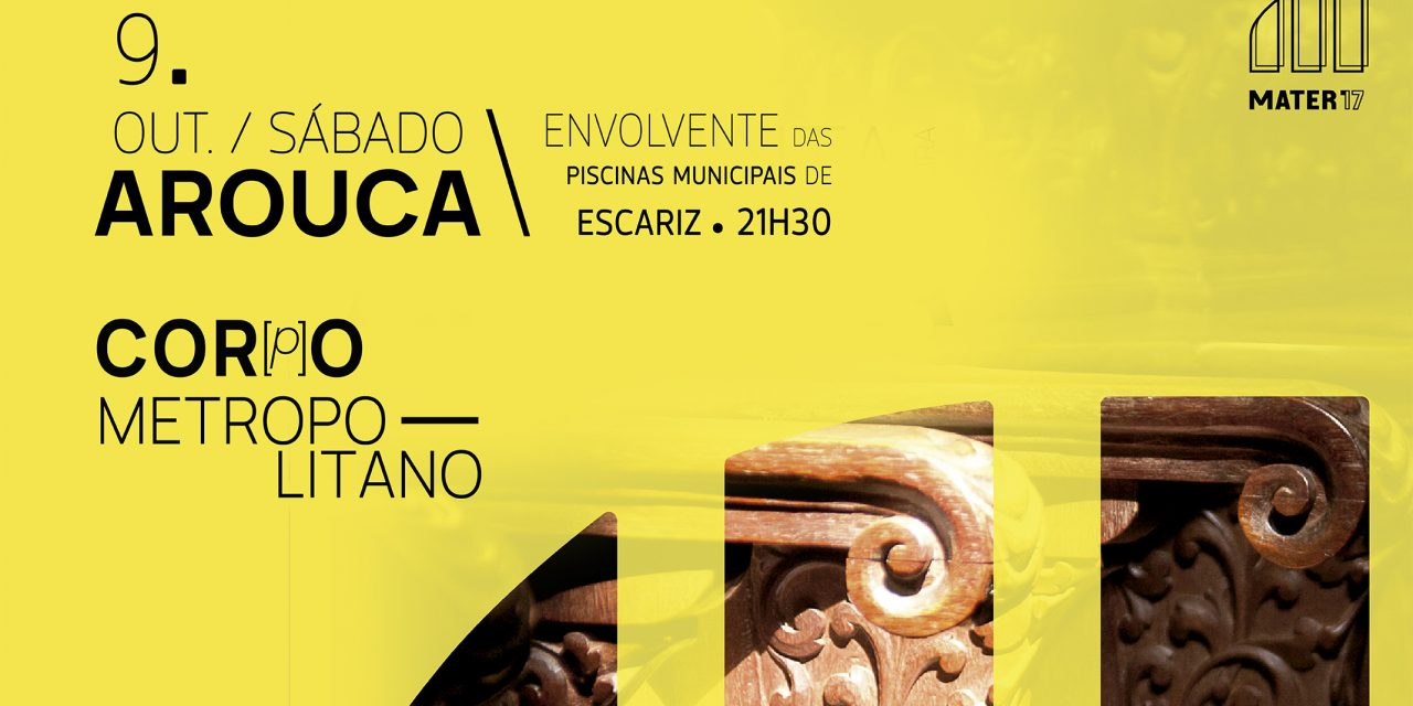 Reagendado para 9 de outubro concerto do Cor(p)o Metropolitano