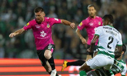 Após derrota europeia Sporting triunfa em Arouca